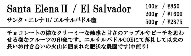 サンタ・エレナⅡ